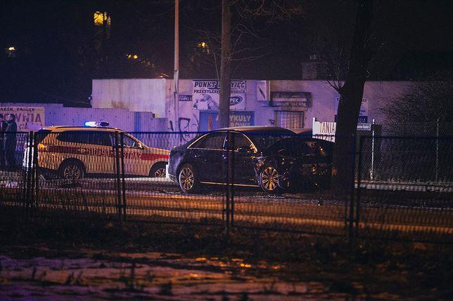 Do wypadku rządowej limuzyny doszło w Oświęcimiu.