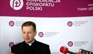 Rzecznik Konferencji Episkopatu Polski ks. Paweł Rytel-Andrianik.