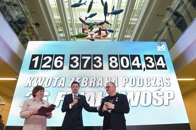 Podsumowanie 26. Finału WOŚP. Padł rekord!