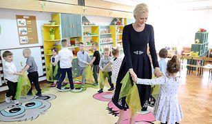 Agata Duda pokazała zdjęcie z dzieciństwa. Wszystko przez spotkanie z przedszkolakami