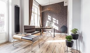 32-metrowe mieszkanie urządzone w duchu klasycznej elegancji