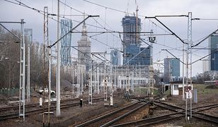 Remont toru na odcinku Warszawa Centralna – Warszawa Wschodnia