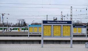 Warszawa. Awaria sieci trakcyjnej. Duże opóźnienia w kursowaniu pociągów