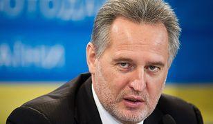 Dmytro Firtasz, ukraiński oligarcha, na celowniku śledczych