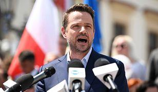 Rafał Trzaskowski wraca do stylu z kampanii prezydenckiej. Płomienne wystąpienie w Gdańsku