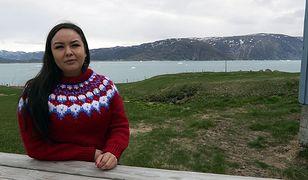 Mieszka w Grenlandii. Topniejący lodowiec zagraża jej bezpieczeństwu