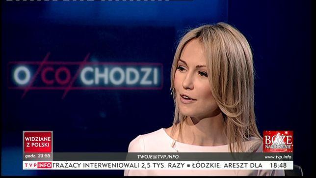 Magdalena Ogórek zaprosiła do TVP Info Marcina Rolę, antybohatera tyrady przeciw uczestniczkom Czarnego Protestu.