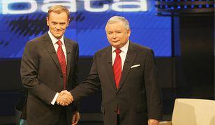 Debata Kaczyński - Tusk w 2007 roku przeszła do historii. Dzisiaj kandydacie boją się bezpośrednich starć.