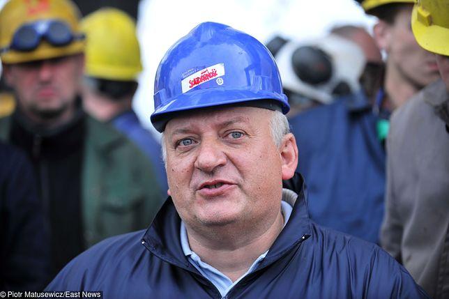 Karol Guzikiewicz, wiceszef stoczniowej Solidarności z Gdańska