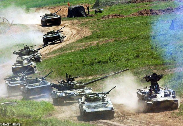 Manewry rosyjskiej armii w okolicach Władywostoku.