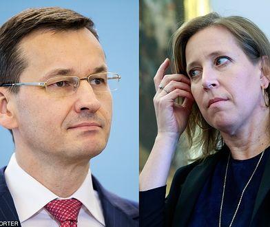 Okazuje się, że Mateusza Morawieckiego i Susan Wójcicki łączą dalekie więzy rodzinne