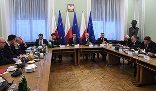 W Sejmie odbyło się spotkanie premiera Mateusza Morawieckiego z przedstawicielami wszystkich ugrupowań parlamentarnych