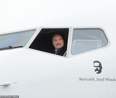 Antoni Macierewicz prezentował samolot już w 2017 roku
