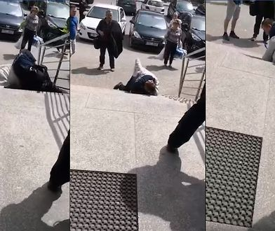 Nożownik zaatakował policjanta, który go obezwładniał