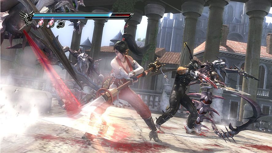 Kooperacja w Ninja Gaiden Sigma 2 na obrazkach