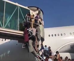 Chaos na lotnisku w Kabulu. Porażające nagranie obiegło sieć
