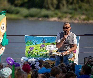 W akcji promowania czytelnictwa udział wziął Bartek Jędrzejak