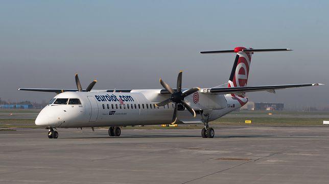 Bombardier Dash-8 Q400 miał problem z podwoziem