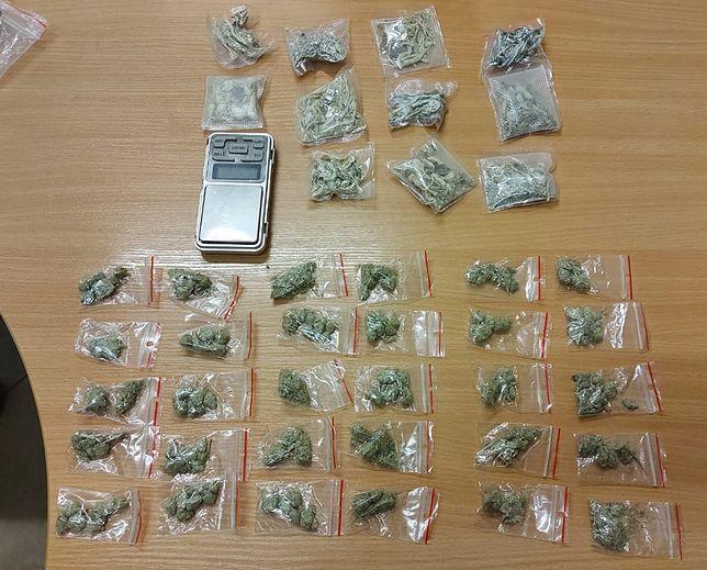 Policjanci zatrzymali podejrzanego o posiadanie i handel narkotykami