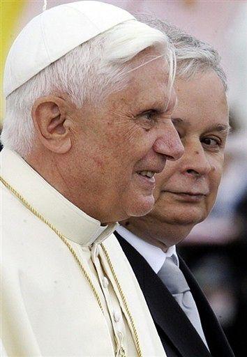 Benedykt XVI u prezydenta RP