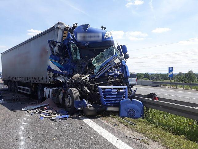 Przyczyny wypadku na autostradzie A4 wyjaśnia śląska policja