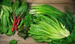 Zielone liście warzyw to źródło cennych substancji odżywczych