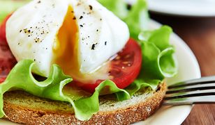 Jajko w koszulce świetnie sprawdzi się na śniadanie