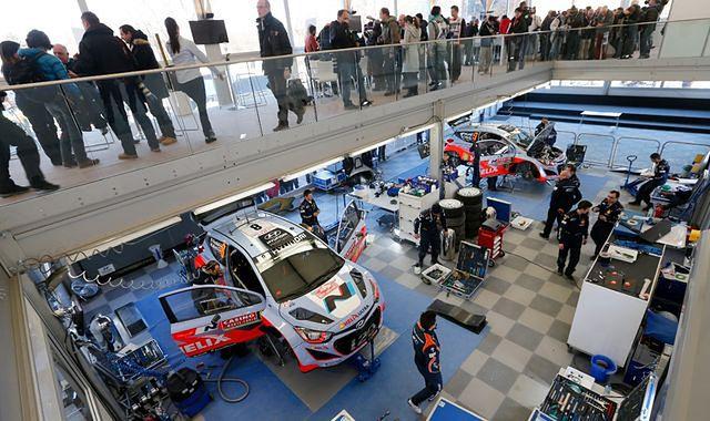 Hyundai i20 WRC w Rajdzie Szwecji