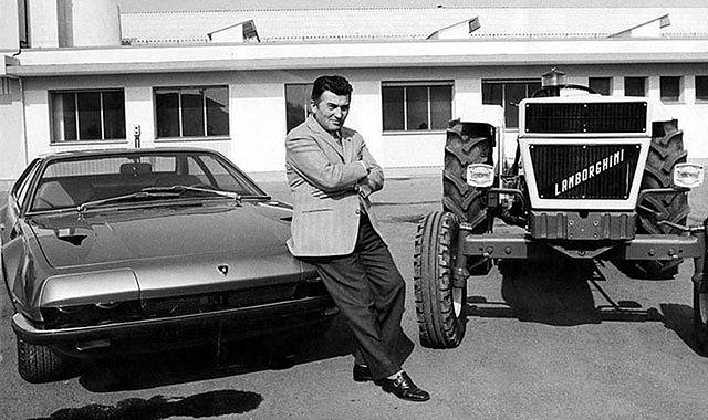 Ferruccio Lamborghini. Człowiek, który rzucił wyzwanie Enzo Ferrariemu