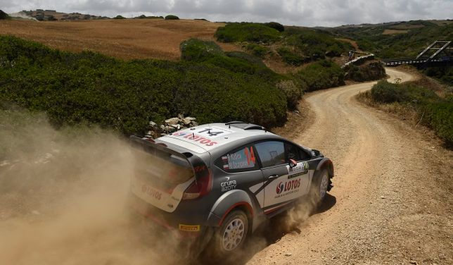 WRC: testy Kubicy w rejonie Mikołajek