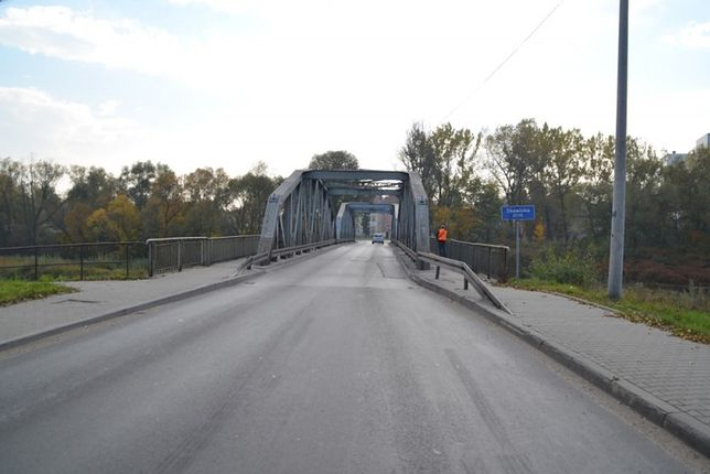 Most w Skawinie jest częścią drogi krajowej nr 44