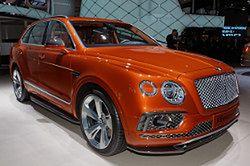 Bentley Bentayga i inne SUV-y we Frankfurcie