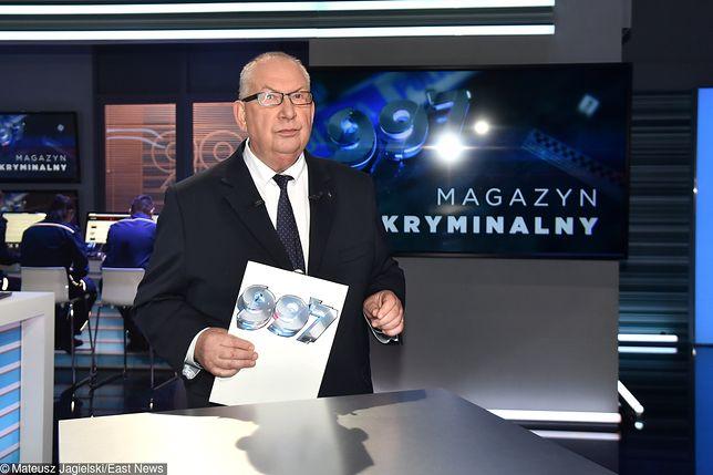 """Powrócił """"Magazyn kryminalny 997"""". Fajbusiewicz na tropie kolejnych, mrożących krew w żyłach historii"""