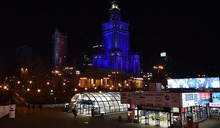 Warszawa. Pałac Kultury i Nauki zabłyśnie na niebiesko