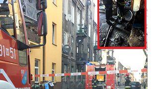 Warszawa. Mieszkanie kobiety zostało doszczętnie spalone