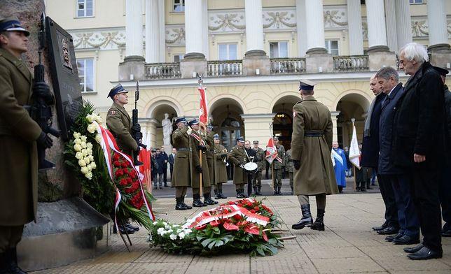 14 lat temu Lech Kaczyński został prezydentem stolicy. Uroczystości na pl. Bankowym