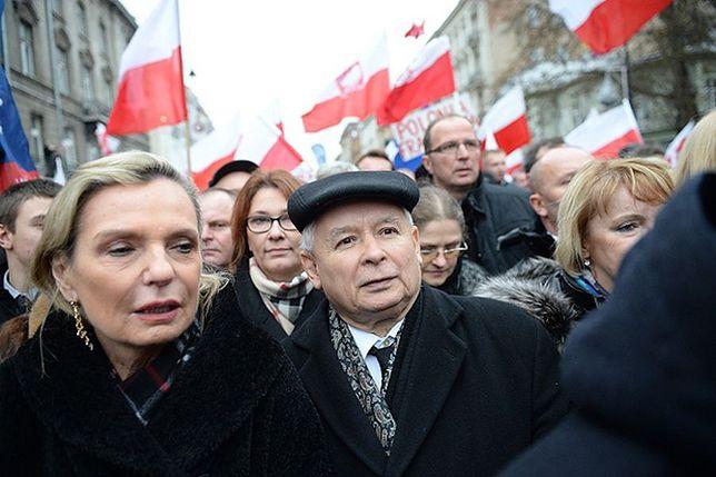 """Kaczyński o kontrmanifestacji: """"To wszystko jest nielegalne"""""""