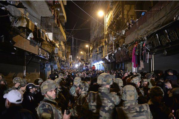 41 osób zginęło w wyniku samobójczych zamachów w Bejrucie