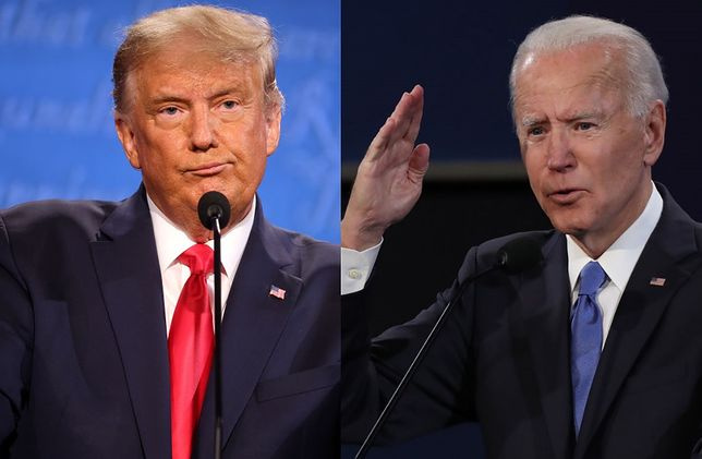 Donald Trump i Joe Biden walczą o fotel prezydenta USA