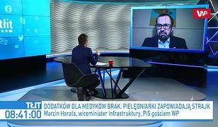 Koronawirus w Polsce. Pielęgniarki grożą strajkiem. Marcin Horała apeluje