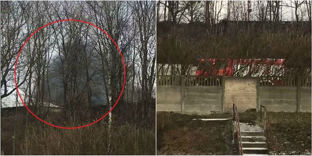 Ogromny pożar w Katowicach. Płonie sortownia kopalni Boże Dary