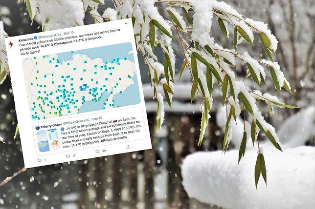 Pogoda. Rekordowo niskie temperatury na Syberii we wrześniu