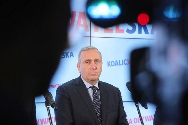 Grzegorz Schetyna, lider Platformy Obywatelskiej.