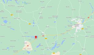 Na drodze krajowej nr 22 na trasie Chojnice - Starogard Gdański (Pomorskie), w miejscowości Bytonia, samochód uderzył w drzewo