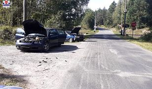 Białka. Wypadek drogowy Fot: Policja Lubelska