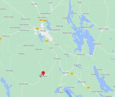 Wypadek trasie Bramka-Bożęcin w powiecie ostródzkim