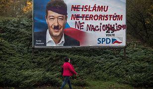 """Tomio Okamura może być """"brunatnym koniem"""" czeskich wyborów"""