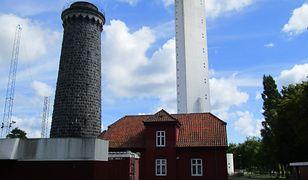 Stara wieża nasłuchowa w Dueodde na Bornholmie, wycofana z użytku w 2013 roku.