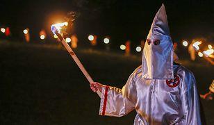Ku Klux Klan i neonaziści demonstrowali w 2016 r. w Temple w Georgii