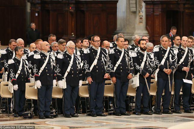 Do Żandarmerii Watykańskiej należy ok. 150 osób